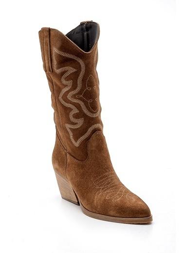 Derimod Kadın Çizme (M05) Casual Taba
